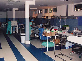 Intensive care room