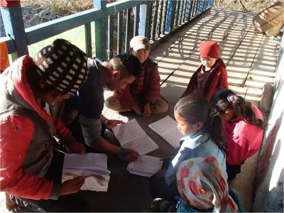 Mission d'Octobre 2015 dans le Makalu (Népal)