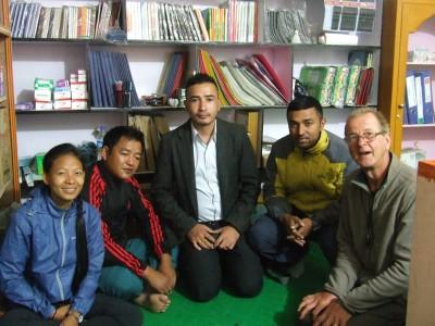Avec Friends of Nature à Khandbari
